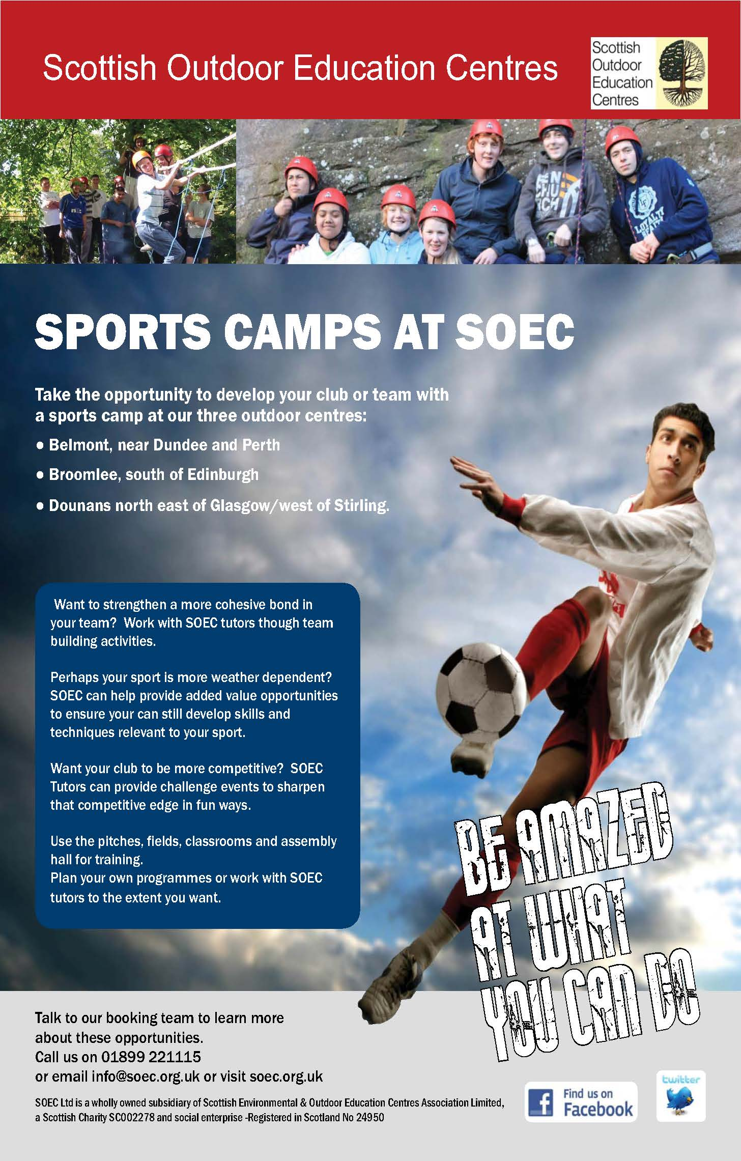 Scottish Outdoor Education Centres | Sport