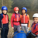 Raft Building at Dounans